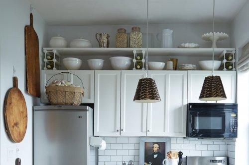 Cómo conseguir almacenamiento extra en cocinas pequeñas