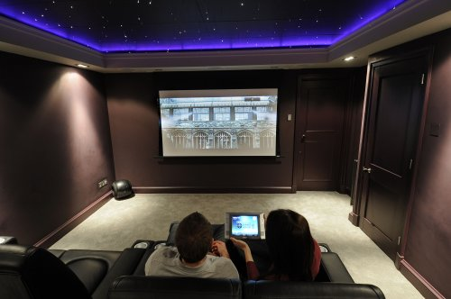 Cómo hacer una sala de cine en casa