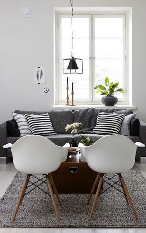 Qué sofá comprar con una silla Eames