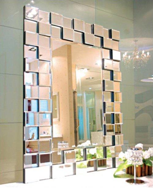 Usar espejos para decorar